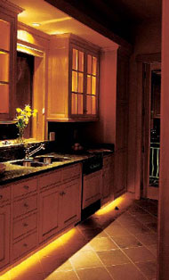kitchen floor lighting. Cornwall Devon Kitchen Design Tips Floor Lighting