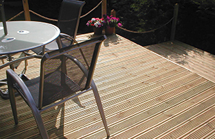 Garden Decking Cornwall